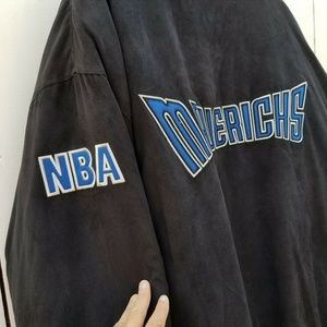 Unique Vintage Jackets & Coats - Dallas Mavericks Embroidered NBA Jacket